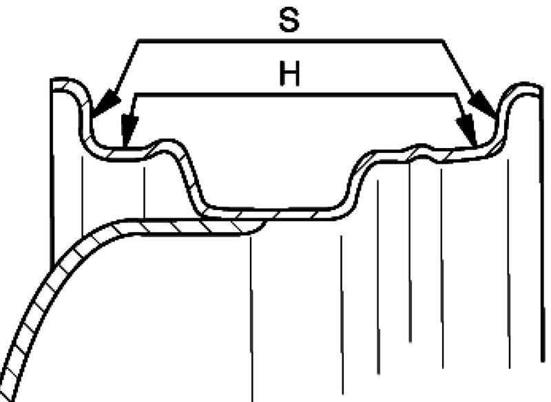 Схема проверки радиального и